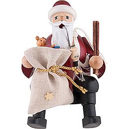 Räuchermännchen Weihnachtsmann - Kantenhocker - 15 cm