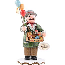 Räuchermännchen Winterkinder Spielzeughändler - 20 cm