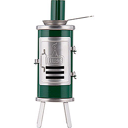 Räucherofen - Leimofen grün/schwarz - 14,5 cm