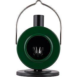 Räucherofen Scheibenofen Grün/Schwarz - 12 cm