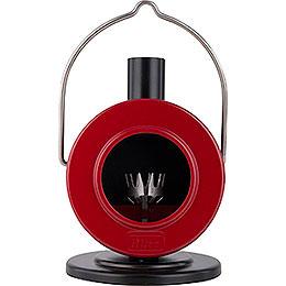 Räucherofen Scheibenofen Rot/Schwarz - 12 cm