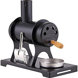 Räucherofen - Werkstattofen schwarz - 11 cm