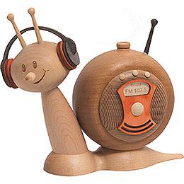 Räucherschnecke Sunny Radioschnecke - 16 cm
