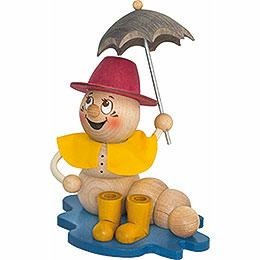 Räucherwurm Regen Rudi - 14 cm