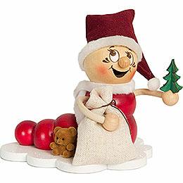Räucherwurm Weihnachts Rudi - 14 cm