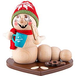 Räucherwurm Weihnachtsmarkt-Rudi - 14 cm