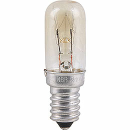 Radio Tube Lamp - E14 Socket - 230V/15W