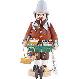 Räuchermännchen Baumschmuckhändler - 18 cm