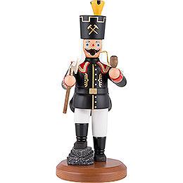 Räuchermännchen Bergmann Bergakademist mit Knickbein - 22 cm
