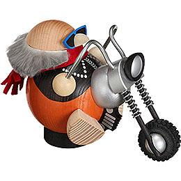 Räuchermännchen Biker - Kugelräucherfigur - 12 cm