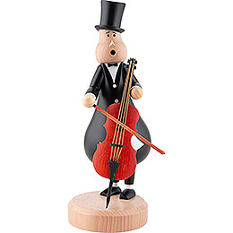 Räuchermännchen Cellist Johann - 27 cm