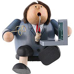 Räuchermännchen Computerexperte - Kantenhocker - 15 cm