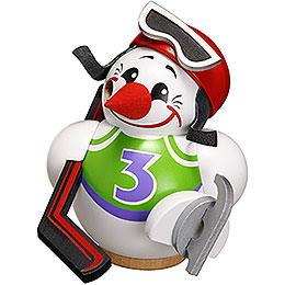 Räuchermännchen Cool-Man Eishockeyspieler - Kugelräucherfigur - 12 cm