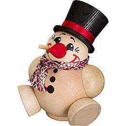 Räuchermännchen Cool Man mit Schal - Kugelräucherfigur - 12 cm