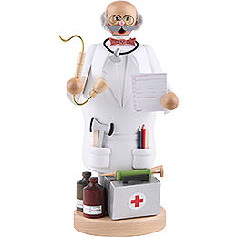 Räuchermännchen Doktor - 22 cm