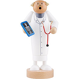 Räuchermännchen Doktor - 24 cm