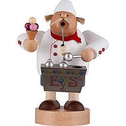 Räuchermännchen Eisverkäufer - 20 cm