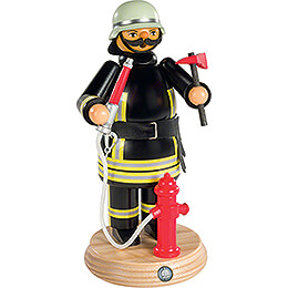 Räuchermännchen Feuerwehrmann - 24 cm