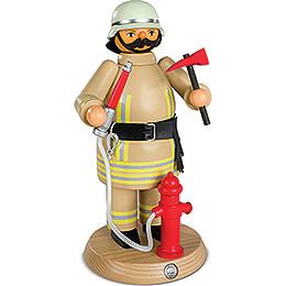 Räuchermännchen Feuerwehrmann safaribeige - 24 cm