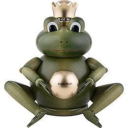 Räuchermännchen Froschkönig - 16 cm
