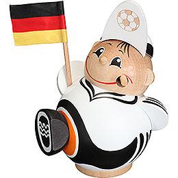 Räuchermännchen Fußballfan - Kugelräucherfigur - 12 cm