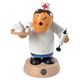 Räuchermännchen Krankenschwester - 16 cm