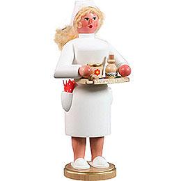 Räuchermännchen Krankenschwester - 21 cm