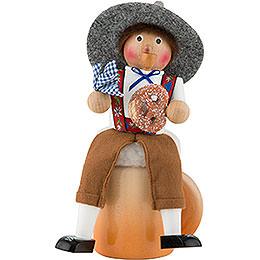 Räuchermännchen Musical Oktoberfest - 27,5 cm