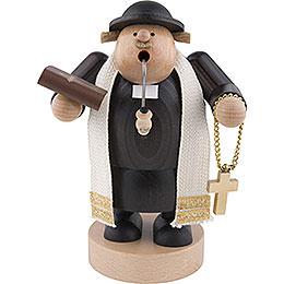 Räuchermännchen Pfarrer mit Bibel - 19 cm