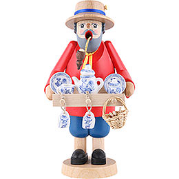 Räuchermännchen Porzellanhändler - 18 cm