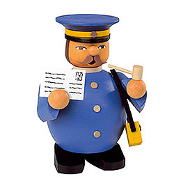 Räuchermännchen Postbote - 11 cm