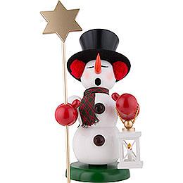 Räuchermännchen Schneemann Sternenträger - 60 cm