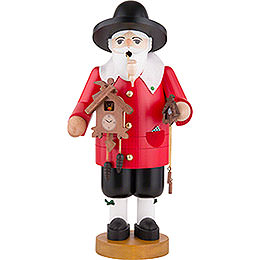 Räuchermännchen Schwarzwälder Uhrenverkäufer - 36 cm