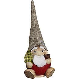 Räuchermännchen Waldzwerg - Kugelräucherfigur - 19 cm