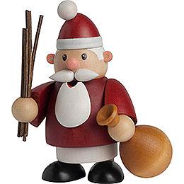 Räuchermännchen Weihnachtsmann - 10 cm