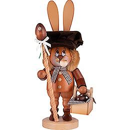 Räuchermännchen Wichtel Hase mit Eierkorb - 36 cm