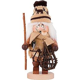 Räuchermännchen Wichtel Holzmacher - 30,5 cm