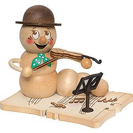 Räucherwurm Geigenspieler Rudi - 14 cm