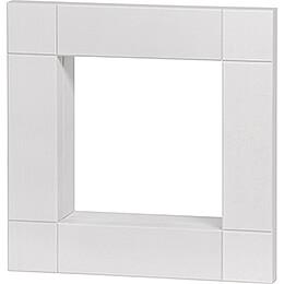 Rahmen für Kantenhocker, weiß lasiert - 33 cm