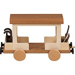 Railroad Car for Snowman Locomotive - 15 cm / 5.9 inch