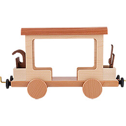 Railroad Car for Snowman Locomotive - 15 cm / 5.9 inch