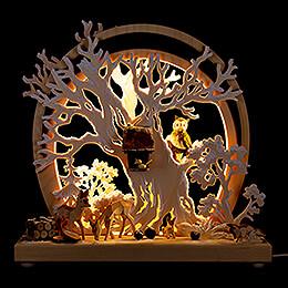 Romantic Lamp - Forest Animals - 30x28 cm / 11.8x11 inch