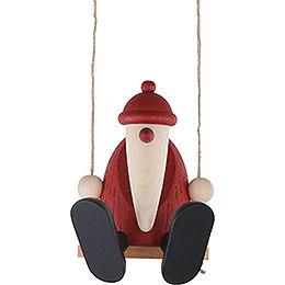 Santa Claus on a Swing - 9 cm / 3.5 inch