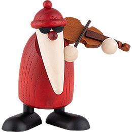 Santa Claus with Violin - 9 cm / 3.5 inch