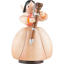 Schaarschmidt Angel with Bassoon - 4 cm / 1.6 inch