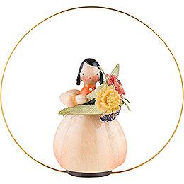 Schaarschmidt Blumenkind Ringelblume im Ring - 6 cm
