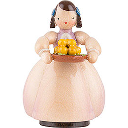 Schaarschmidt Girl with Apple Bowl - 4 cm / 1.6 inch