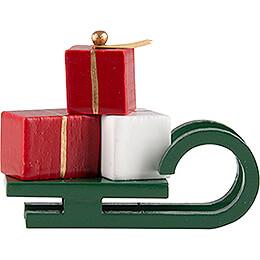 Schlitten mit Geschenken - 2,4 cm