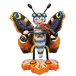 Schmetterling Pfauenauge-Geige - 8 cm