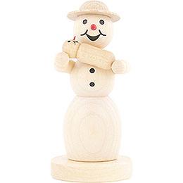 Schneefrau mit Baby - 11 cm